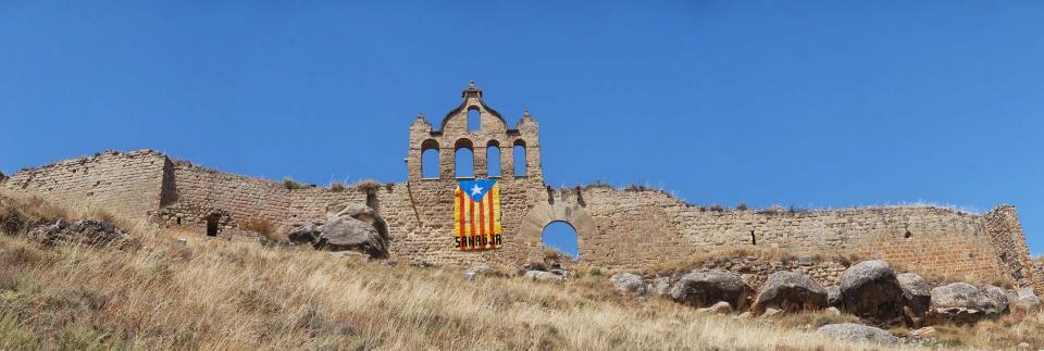 16.08.2016 El castell  Sanaüja -  Ramon Sunyer