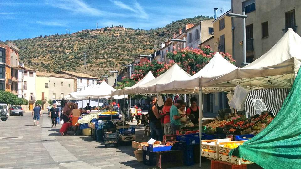 12.08.2016 mercat  Torà -  Ramon Sunyer