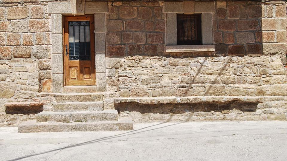 14.08.2016 bancs de pedra  Vilalta -  Ramon Sunyer