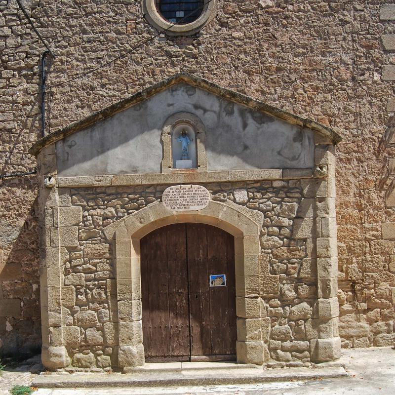 14.08.2016 Església Sant Salvador  Vilalta -  Ramon Sunyer