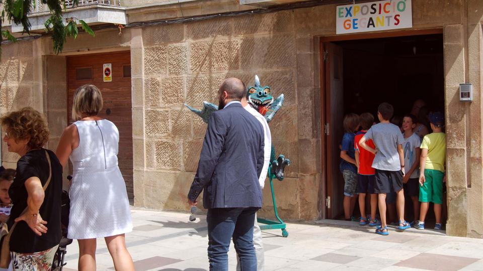 01.09.2016 Exposició gegants  Torà -  Ramon Sunyer