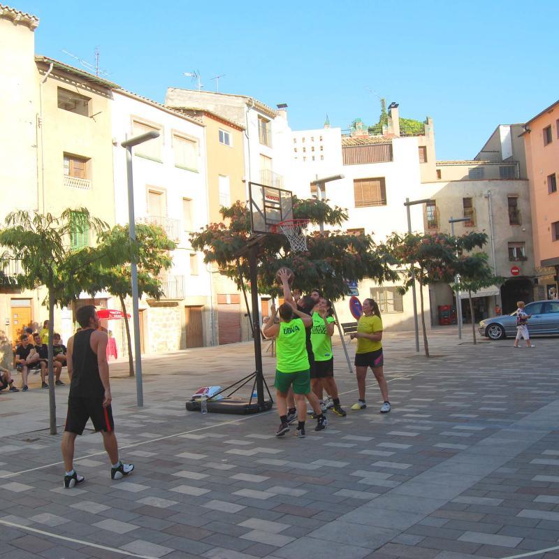 02.09.2016 CAMPIONAT DE BÀSQUET 3x3  Torà -  Ramon Sunyer