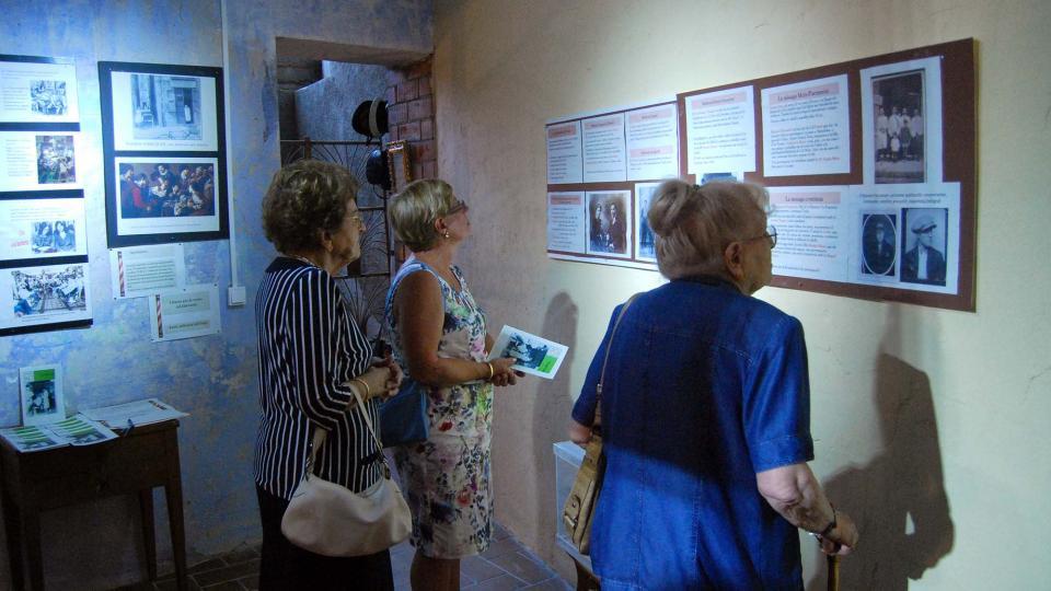 02.09.2016 Exposició Tot pel cap  Torà -  Ramon Sunyer