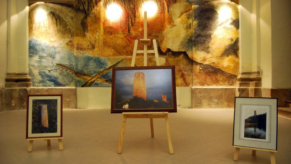 03.09.2016 exposició torre de Vallferosa  Torà -  Ramon Sunyer