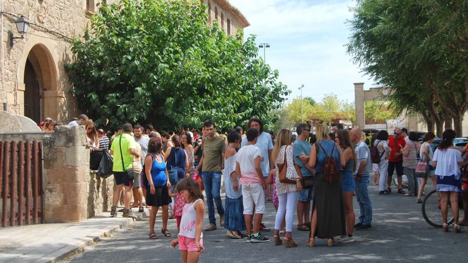 04.09.2016 Vermut popular  Torà -  Ramon Sunyer