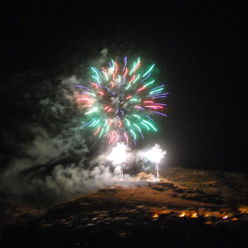 10.09.2016 Castell de focs  Sanaüja -  Ramon Sunyer