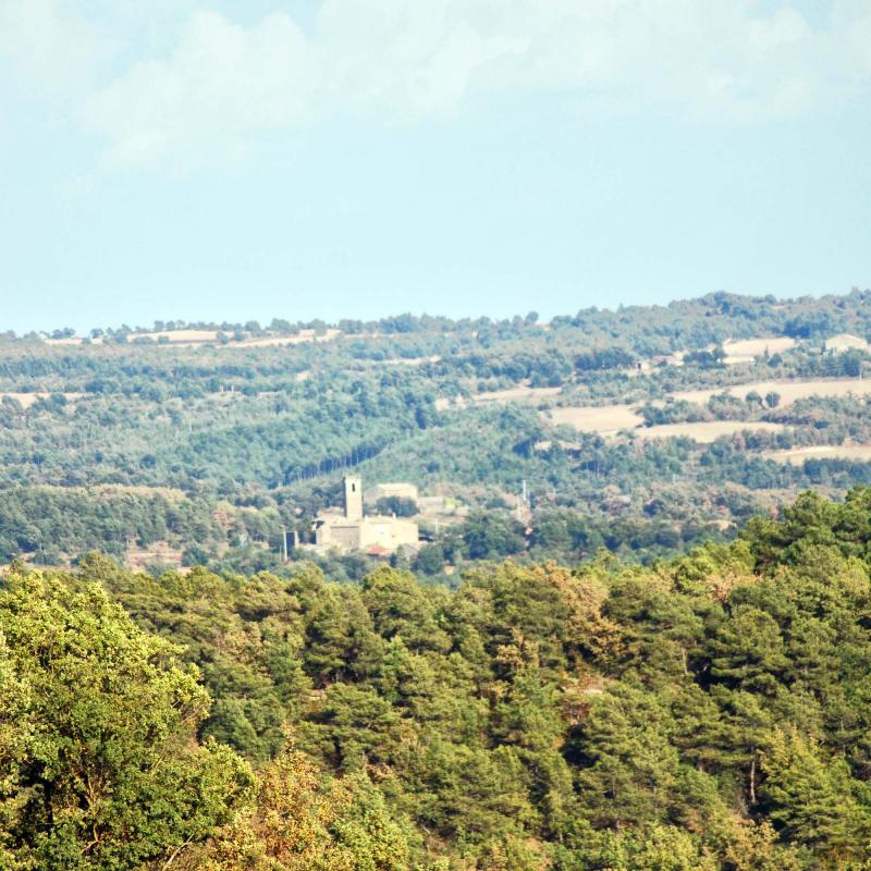 10.09.2016 Vista des de Llanera  Sant Just d'Ardèvol -  Ramon Sunyer