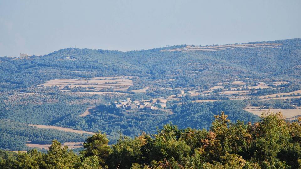 10.09.2016 Vista de Pinós i Ardèvol  Llanera -  Ramon Sunyer