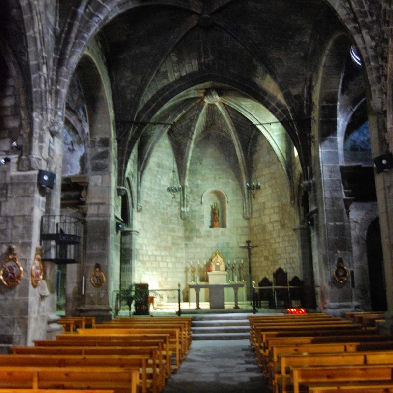 11.09.2016 Església de Santa Maria  Sanaüja -  Ramon Sunyer