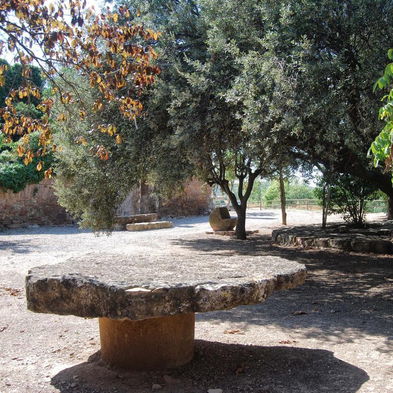 11.09.2016 zona de descans  Sanaüja -  Ramon Sunyer