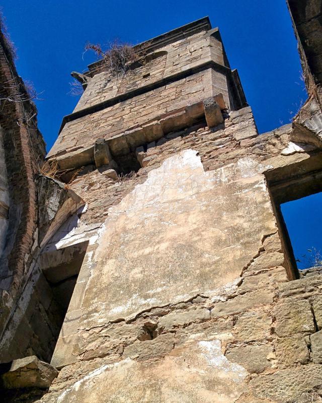 18.09.2016 campanar església  Vallferosa -  Ramon Sunyer