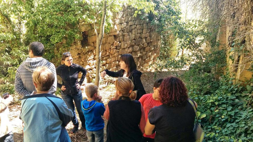 18.09.2016 visita a l'antic poble  Vallferosa -  Ramon Sunyer