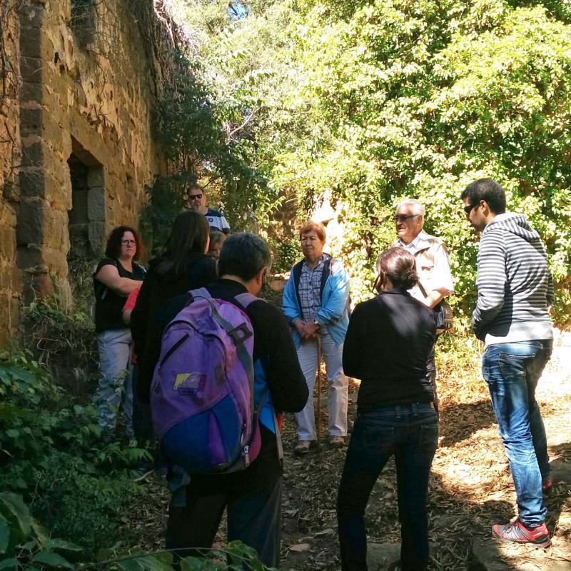 18.09.2016 visita  Vallferosa -  Ramon Sunyer