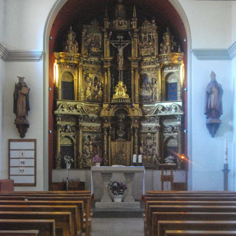 10.09.2016 Retaule de sant Martí de Llanera  Hostal Nou -  Ramon Sunyer