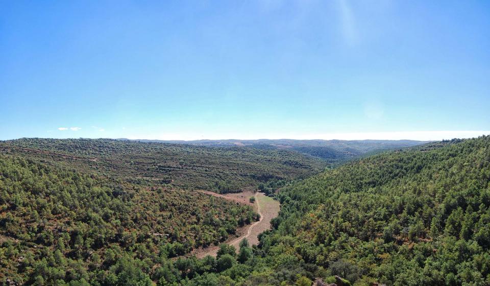 18.09.2016 paisatge de la vall  Vallferosa -  Ramon Sunyer