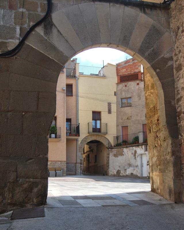 10.09.2016 portal  Torà -  Ramon Sunyer