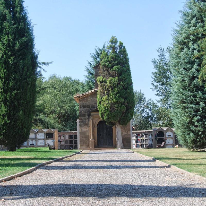 10.09.2016 cementiri  Torà -  Ramon Sunyer
