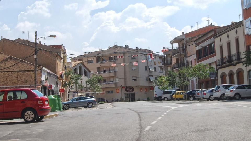 10.09.2016 plaça de la creu  Torà -  Ramon Sunyer
