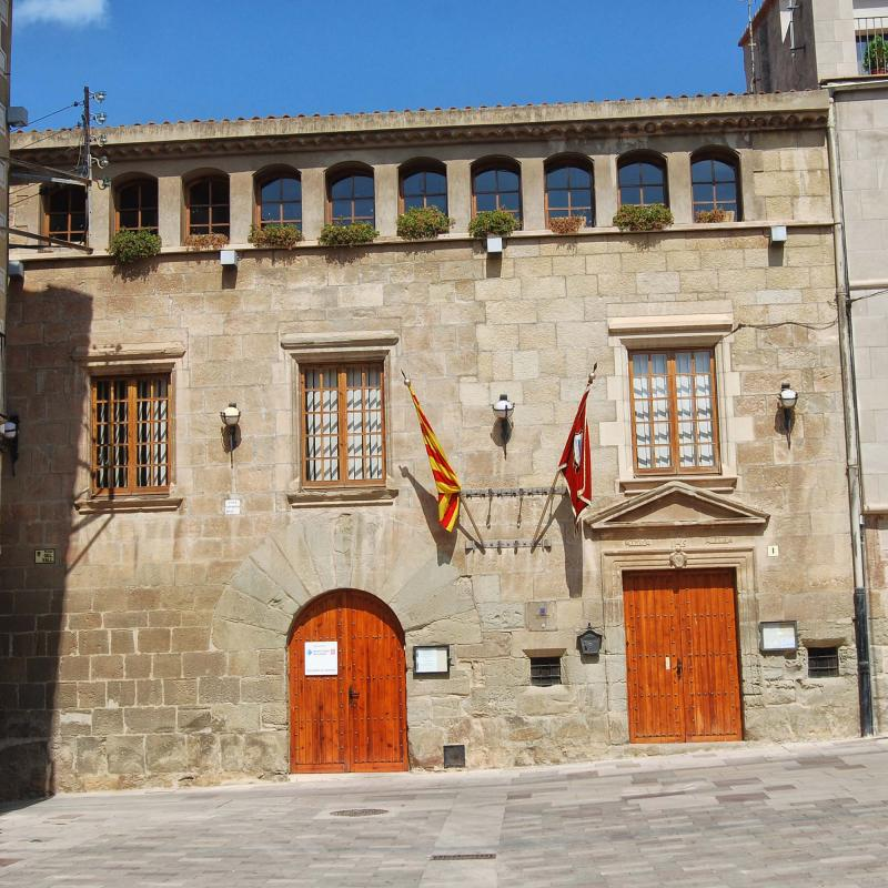 Building  Casa de la Vila - Author Ramon Sunyer (2016)