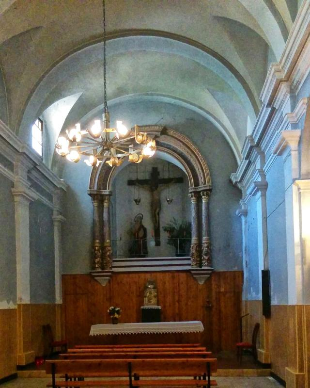 17.08.2016 església de sant Gil  Torà -  Ramon Sunyer