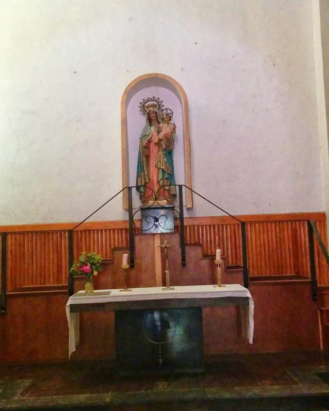 17.08.2016 església de sant Gil, altar del Roser  Torà -  Ramon Sunyer