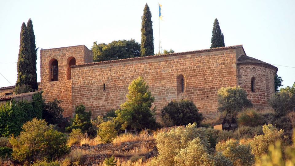 30.08.2016 església de santa Maria  L'Aguda -  Ramon Sunyer
