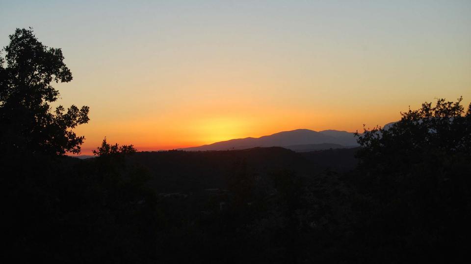 06.08.2016 Des de puig castellar  Biosca -  Ramon Sunyer