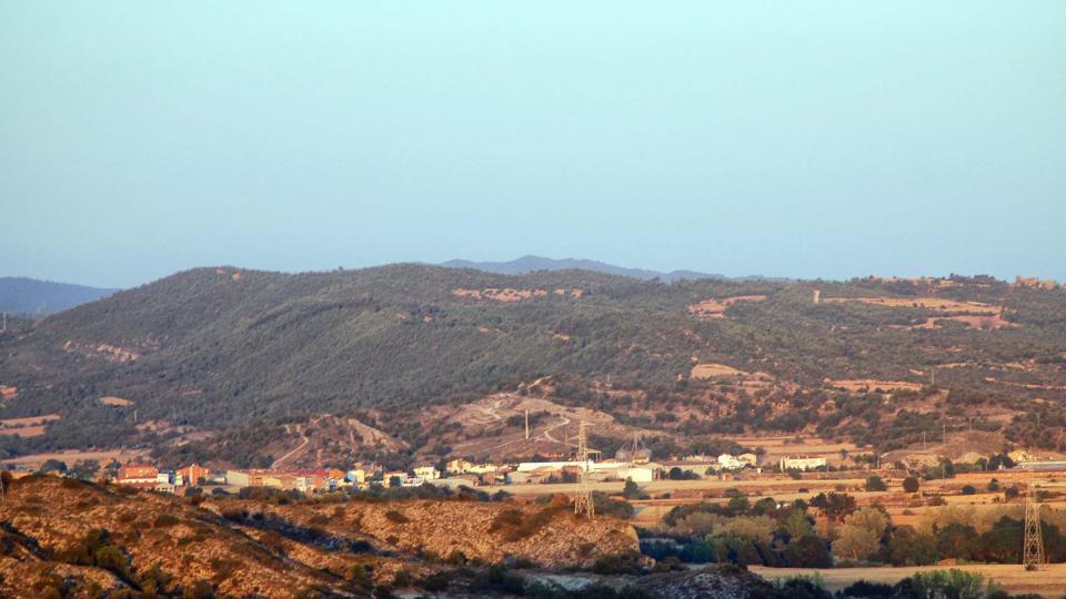 06.08.2016 Vista des de Puig Castellar  Torà -  Ramon Sunyer