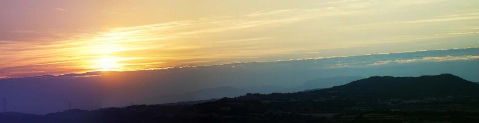 19.08.2016 Posta de Sol al tossal de les Feixes  Torà -  Ramon Sunyer