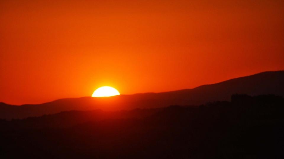 23.08.2016 Posta de Sol al tossal de les Feixes  Torà -  Ramon Sunyer
