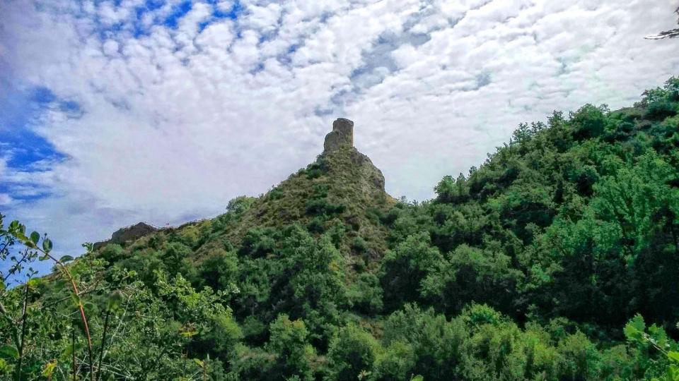 15.08.2015 torre del castell  Castellfollit de Riubregós -  Ramon Sunyer
