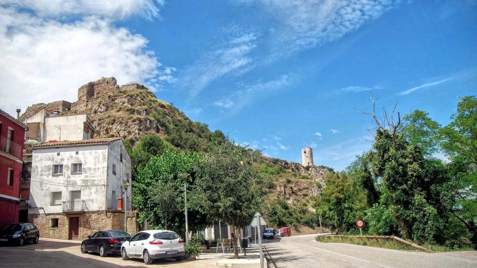 15.08.2015 poble  Castellfollit de Riubregós -  Ramon Sunyer