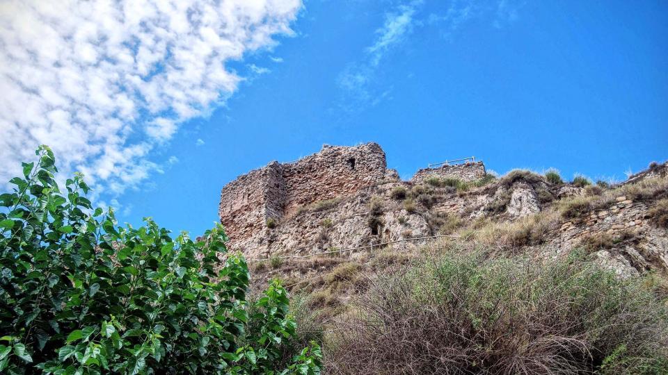 15.08.2015 castell  Castellfollit de Riubregós -  Ramon Sunyer