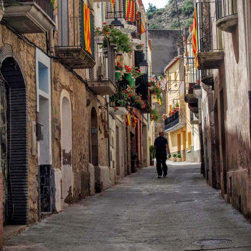 15.08.2015 carrer  Castellfollit de Riubregós -  Ramon Sunyer