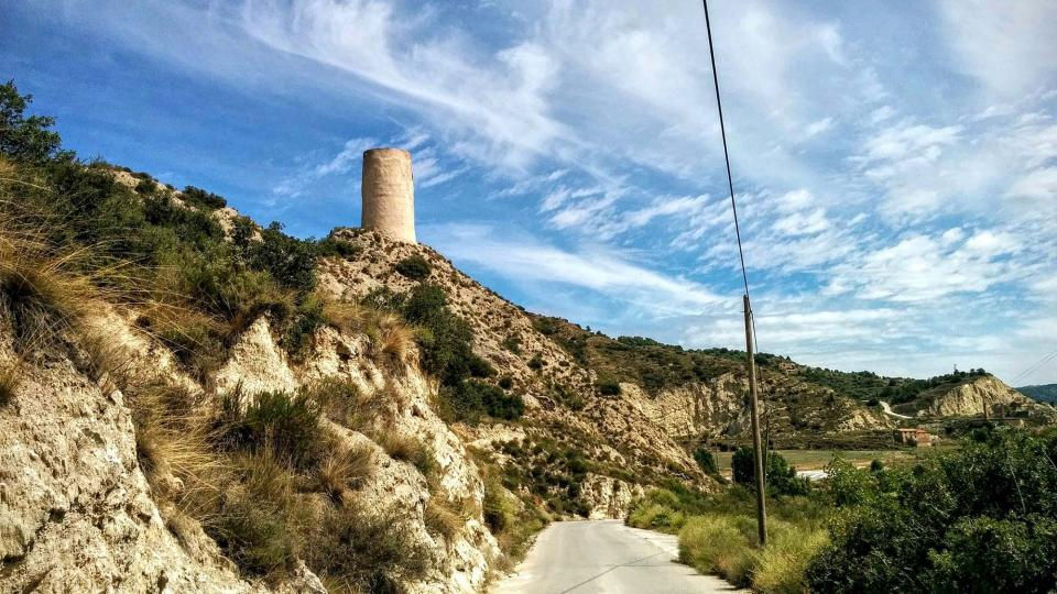 15.08.2015 Torre de'n Balet o del Ballester  Castellfollit de Riubregós -  Ramon Sunyer