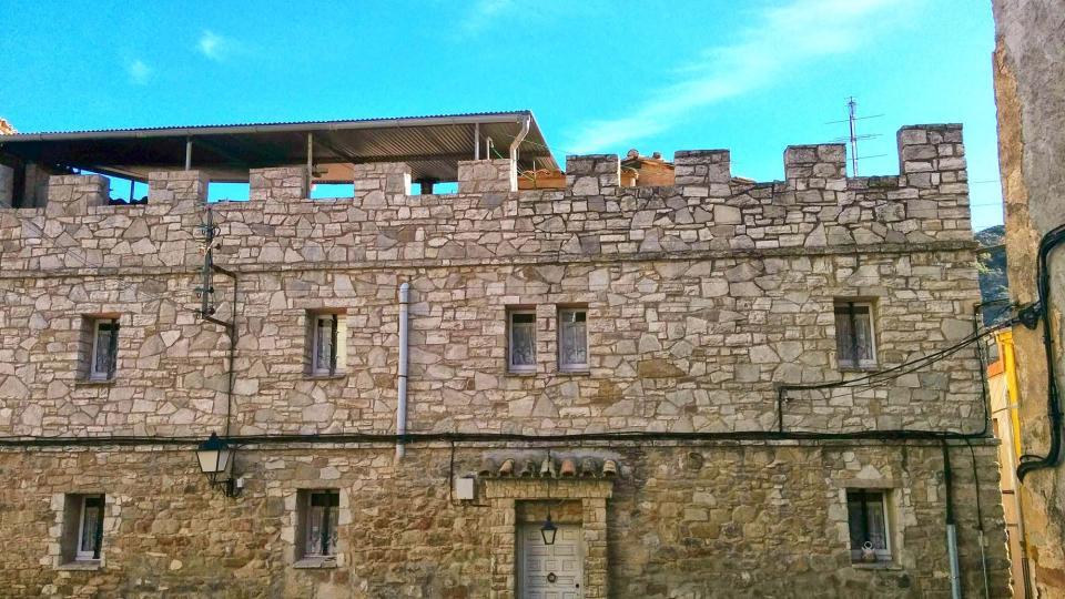16.11.2014 casa  Castellfollit de Riubregós -  Ramon Sunyer
