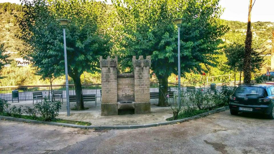 16.11.2014 font  Castellfollit de Riubregós -  Ramon Sunyer