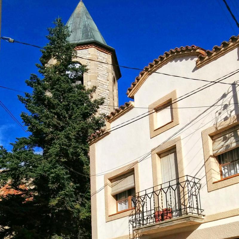 16.11.2014 campanar  Castellfollit de Riubregós -  Ramon Sunyer