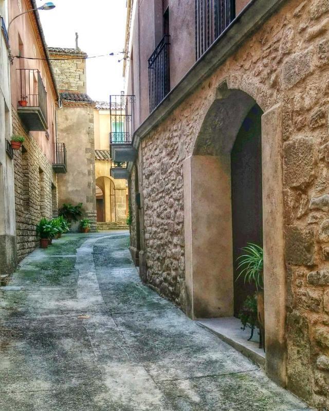 16.11.2014 carrer  Castellfollit de Riubregós -  Ramon Sunyer