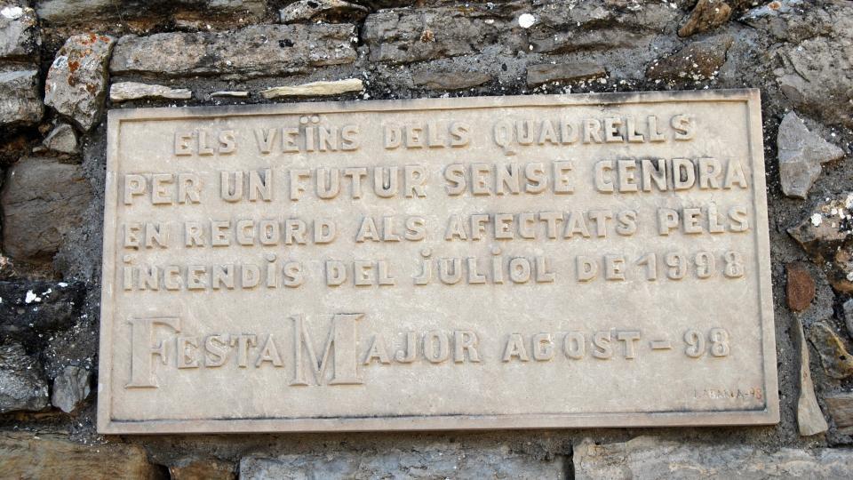 15.05.2016 record dels incendis  Els Quadrells -  Ramon Sunyer