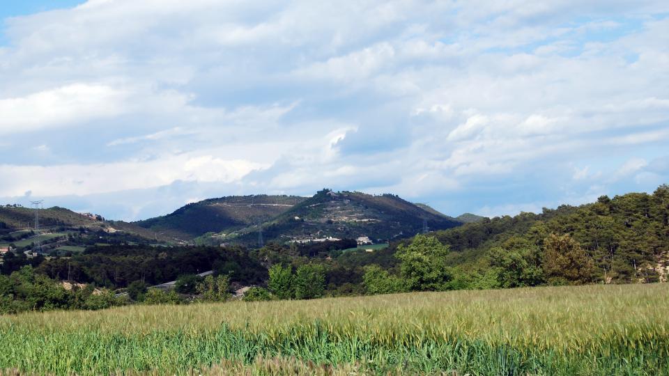 15.05.2016 vista des dels Quadrells  La Molsosa -  Ramon Sunyer