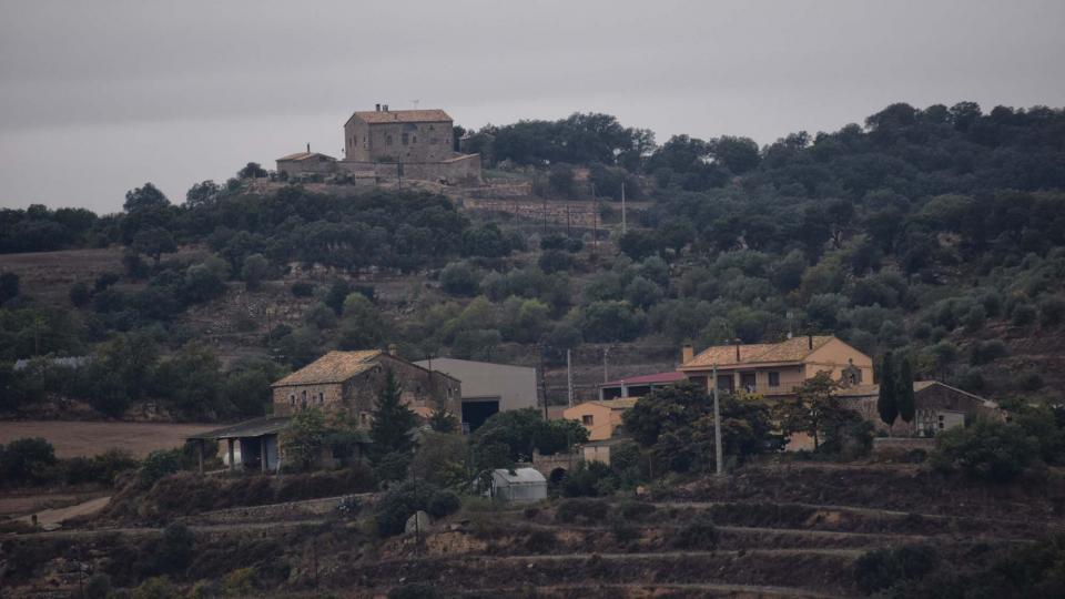 22.10.2016 vista des de Fontanet  Puigredon -  Ramon Sunyer