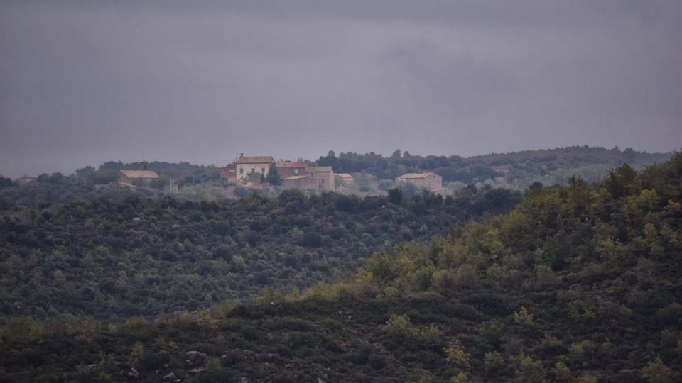 22.10.2016 vista des de Fontanet  Sant Serni -  Ramon Sunyer