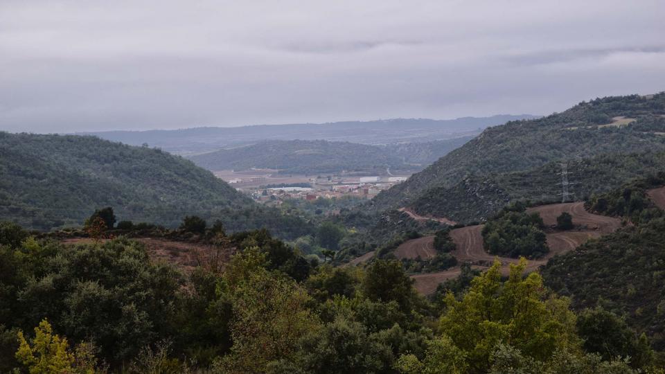 22.10.2016 vista des de Fontanet  Torà -  Ramon Sunyer