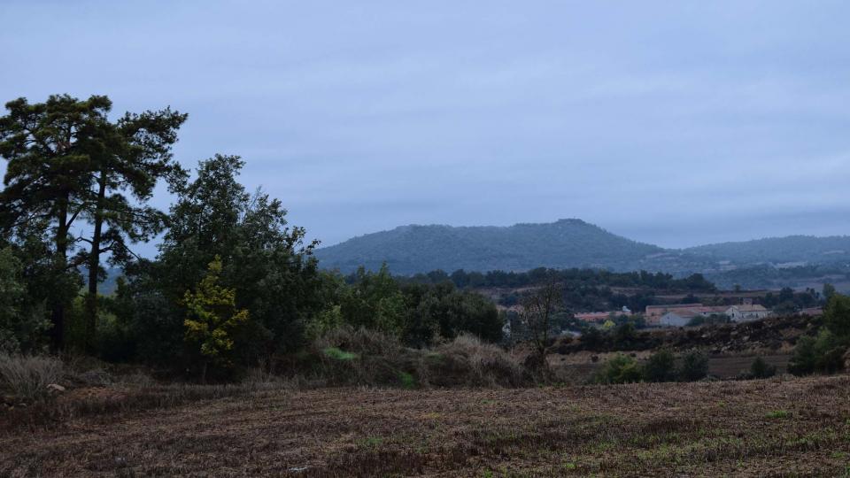 22.10.2016 Vista del tossal de les Feixes  Fontanet -  Ramon Sunyer