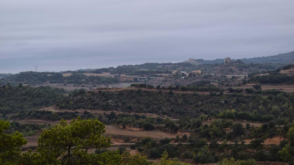 22.10.2016 Vista de Puigredon  Fontanet -  Ramon Sunyer