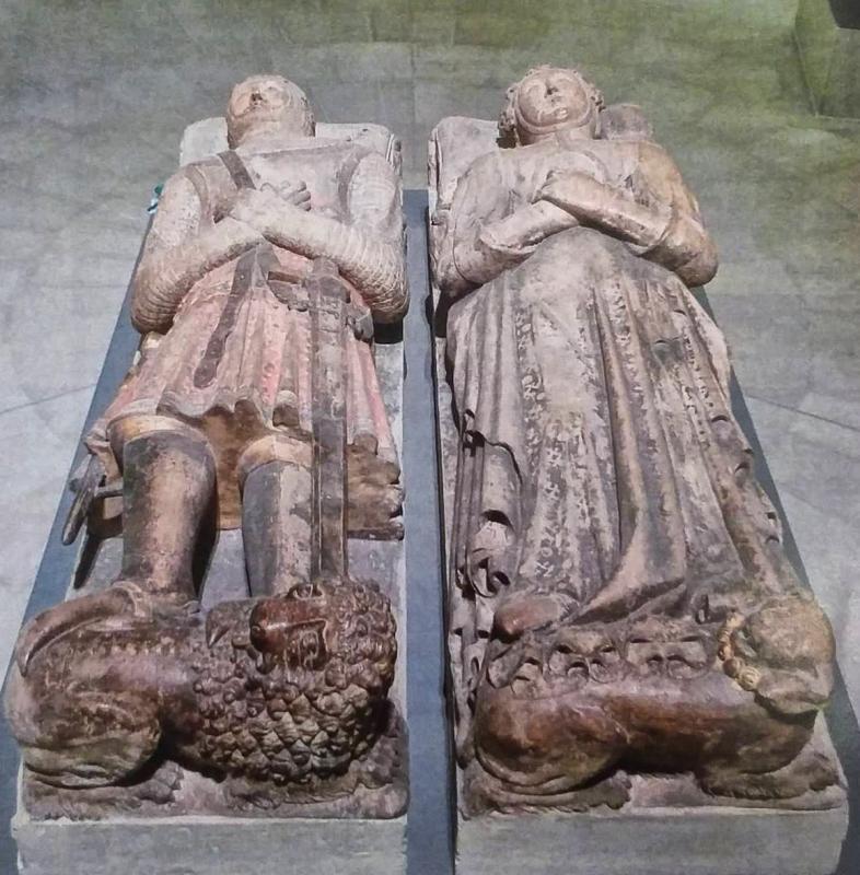 Ramon de Cardona i Margarida de Bellera, al museu de Berlín Foto: Bode Museum - Torà