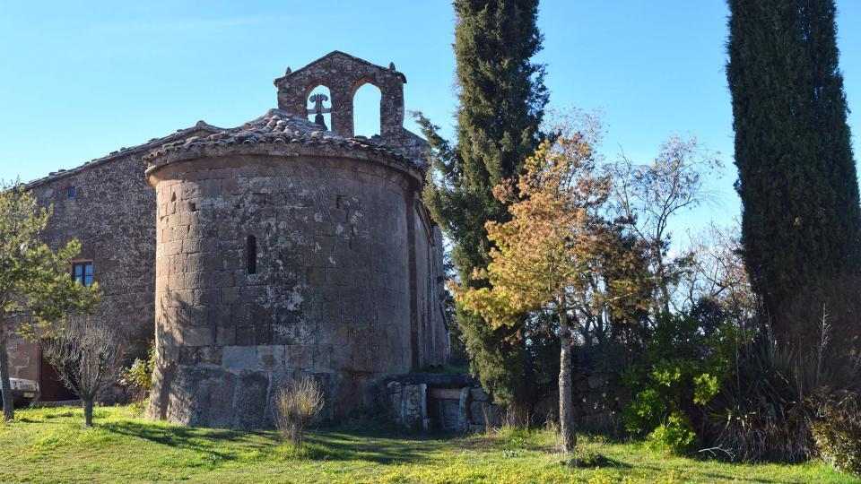 11.12.2016 Santa Maria romànic s XII  Torredenagó -  Ramon Sunyer