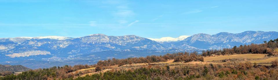 11.12.2016 panoràmica pirineu  Llobera -  Ramon Sunyer