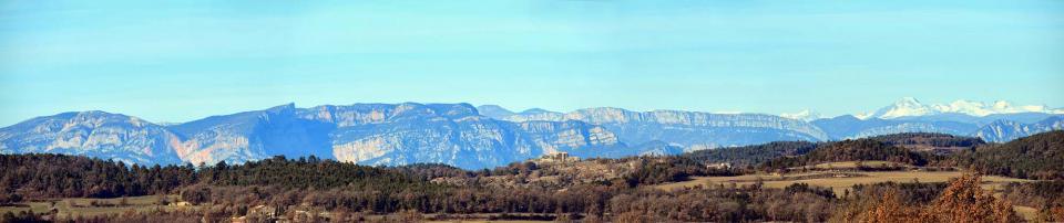 14.12.2016 panoràmica montsec  Llobera -  Ramon Sunyer